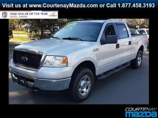 Used 2008 Ford F-150 XLT SuperCrew 4WD for sale in Courtenay, BC