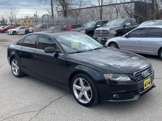 Used 2010 Audi A4 4dr Sdn Auto quattro 2.0T Premium for sale in Oakville, ON