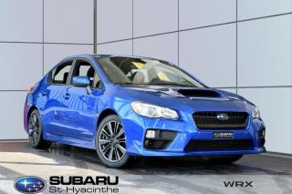 Used 2017 Subaru WRX Manuelle for sale in St-Hyacinthe, QC