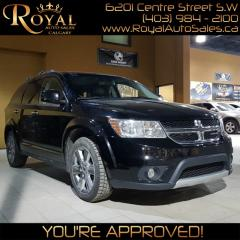 Used 2014 Dodge Journey R/T  w/ Third Row Seating for sale in Calgary, AB