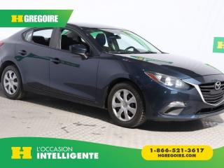 Used 2016 Mazda MAZDA3 G RADIO AM/FM for sale in St-Léonard, QC