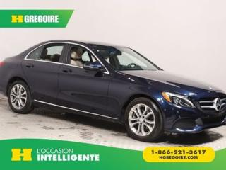 Used 2016 Mercedes-Benz C 300 C 300 AWD CUIR TOIT for sale in St-Léonard, QC