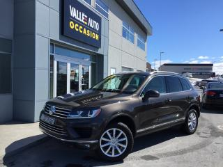 Used 2016 Volkswagen Touareg 3.0 TDI CL**GROUPE TECHNO, BAS KILO,ETC** for sale in St-Georges, QC