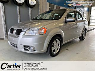 Used 2009 Pontiac Wave 4dr Sdn SE for sale in Québec, QC