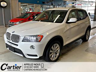 Used 2013 BMW X3 28i for sale in Québec, QC