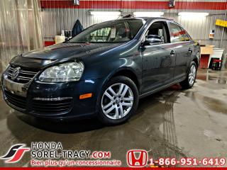 Used 2007 Volkswagen Jetta 4 portes, AUTO. 2,5L **SHOWROOM** for sale in Sorel-Tracy, QC