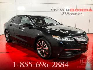 Used 2017 Acura TLX TRACTION INTEGRAL + V6 + TECH PACK + GPS for sale in St-Basile-le-Grand, QC