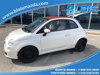 Used 2012 Fiat 500 Décapotable 2 portes Pop for sale in Ste-Marie, QC