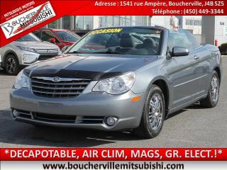 Used 2010 Chrysler Sebring Touring for sale in Boucherville, QC