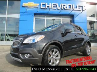 Used 2016 Buick Encore Awd Premium, Gps for sale in Ste-Marie, QC