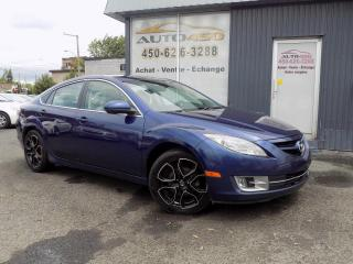 Used 2009 Mazda MAZDA6 ***GS,CUIR,TOIT OUVRANT,MAGS*** for sale in Longueuil, QC