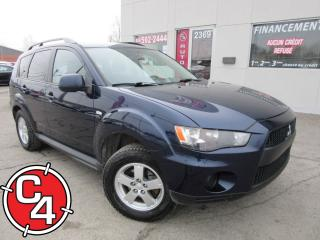 Used 2011 Mitsubishi Outlander ES for sale in St-Jérôme, QC