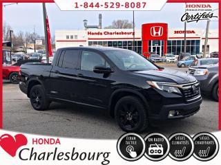 Used 2017 Honda Ridgeline BLACK EDITION 4WD **UN PROPRIÉTAIRE** for sale in Charlesbourg, QC