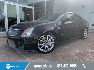 Used 2013 Cadillac CTS -V Sedan CTS-V SEDAN VERY RARE 2 SETS OF TIRES/WHEELS for sale in Edmonton, AB