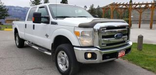 Used 2013 Ford F-350 SD XLT CREW CAB LONG BE for sale in West Kelowna, BC
