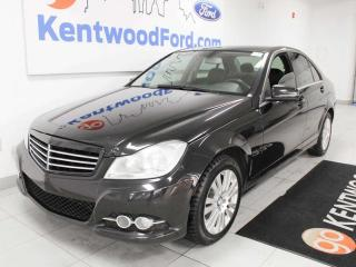 Used 2012 Mercedes-Benz C-Class C 250, Heated Power Seats, Navigation, and Sunroof for sale in Edmonton, AB