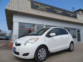 Used 2010 Toyota Yaris AUTOMATIC,ALL POWERED,AIR CONDITIONING,CERTIFIED for sale in Mississauga, ON