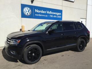 New 2019 Volkswagen Atlas *DEALER DEMO* EXECLINE W/ CAPTAINS PKG for sale in Edmonton, AB