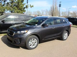 New 2019 Kia Sorento LX 2.4L FWD; HEATED SEATS/WHEEL, BACKUP CAMERA, BLUETOOTH, ANDROID AUTO/APPLE CAR PLAY for sale in Edmonton, AB