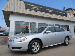 Used 2012 Chevrolet Impala ALL POWERED,A/C,CRUISE,CERTIFIED for sale in Mississauga, ON