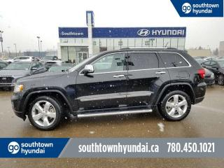 Used 2013 Jeep Grand Cherokee OVRLND/4WD/LEATHER/PANO SUNROOF for sale in Edmonton, AB