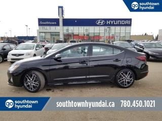 New 2019 Hyundai Elantra Sport - 1.6T 201 HP Turbo/Leather/Back up Camerang/Sport Bolsters for sale in Edmonton, AB