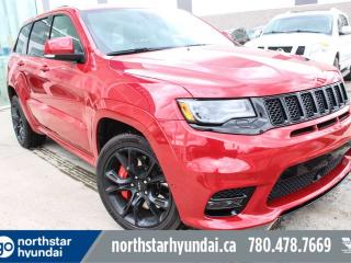 Used 2017 Jeep Grand Cherokee SRT LEATHER/PANOROOF/NAV for sale in Edmonton, AB