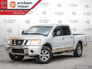Used 2010 Nissan Titan SE: 4x4, CREW CAB, POWER WINDOWS, POWER LOCKS, NEW WINDSHIELD for sale in Edmonton, AB
