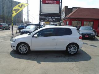 Used 2010 Volkswagen Golf TRENDLINE / NAV/ ALLOYS / 5SPD/ CLEAN / CERTIFIED for sale in Scarborough, ON