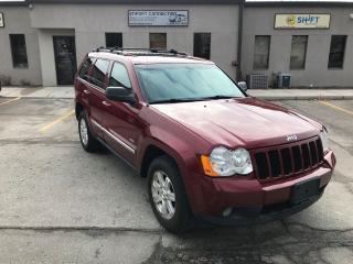Used 2008 Jeep Grand Cherokee 3.0L DIESEL,Laredo,LEATHER,SUNROOF,CERTIFIED! for sale in Burlington, ON