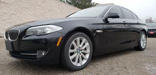 Used 2013 BMW 5 Series Navi 360 camera CERTIFIED 528i xDrive for sale in Mississauga, ON