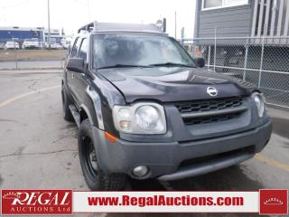 Used 2004 Nissan Xterra S/C 4D Utility 4WD for sale in Calgary, AB