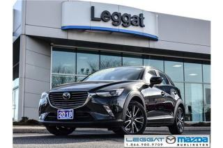 Used 2018 Mazda CX-3 GT- LEATHER, MOONROOF, BOSE, BLUETOOTH, REAR CAMERA for sale in Burlington, ON