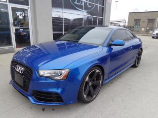 Used 2013 Audi RS 5 4.2 S Tronic 450 HP Navigation Rear Cam B& for sale in Etobicoke, ON