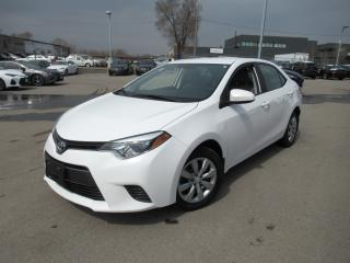 Used 2016 Toyota Corolla LE ONE OWNER for sale in Toronto, ON