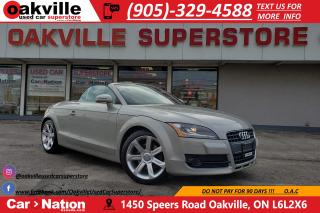 Used 2008 Audi TT 2.0T PREMIUM ROADSTER | NAVIGATION | BLUETOOTH for sale in Oakville, ON