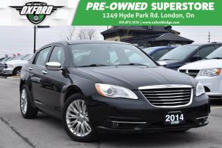 Used 2014 Chrysler 200 Limited - Auto Climate, UConnect/ Bluetooth for sale in London, ON