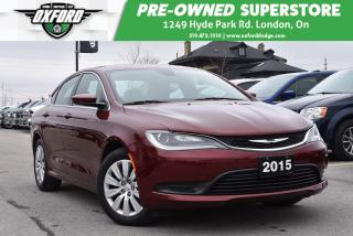 Used 2015 Chrysler 200 LX - FWD, Extremely Low Kms for sale in London, ON