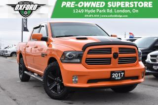 Used 2017 RAM 1500 Longhorn - Sunroof, Backup Camera, Heated Seats for sale in London, ON