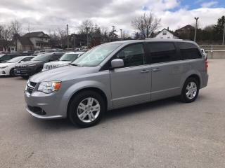 Used 2018 Dodge Grand Caravan Crew | Leather Trimmed Seats | Power Liftgate | Na for sale in Mitchell, ON
