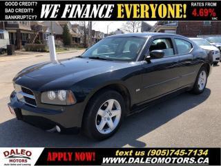 Used 2010 Dodge Charger SXT | BLACK ON BLACK | WE FINANCE for sale in Hamilton, ON