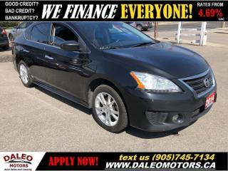 Used 2014 Nissan Sentra 1.8 SR | NAVI | SUNROOF | BACKUP CAM | HTD SEATS for sale in Hamilton, ON