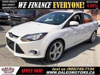 Used 2012 Ford Focus TITANIUM | LEATHER | NAVI | MOONROOF for sale in Hamilton, ON