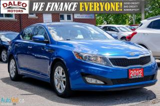 Used 2012 Kia Optima EX | LEATHER | SUNROOF | BACKUP CAM | HEATED SEATS for sale in Hamilton, ON