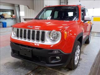 Used 2018 Jeep Renegade Limited *4WD/Htd Lthr/Navi/Bluetooth for sale in Winnipeg, MB