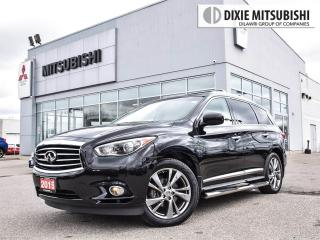 Used 2015 Infiniti QX60 DELUXE TOURING | DVD | PANO ROOF for sale in Mississauga, ON