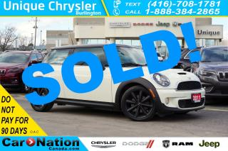 Used 2011 MINI Cooper S HARMAN KARDON| BLUETOOTH| HEATED SEATS for sale in Burlington, ON