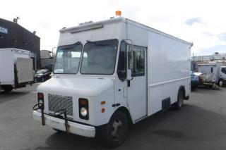 Used 2001 Grumman Olson P42 Workhorse Cargo Van Mobile Workshop Van with Generator for sale in Burnaby, BC