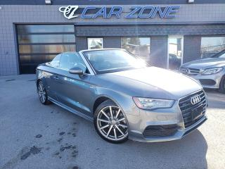 Used 2016 Audi A3 2.0T Technik S-LINE CABRIOLET for sale in Calgary, AB