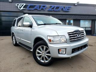 Used 2010 Infiniti QX56 7-pass LOADED, FULLY INSPECTED for sale in Calgary, AB